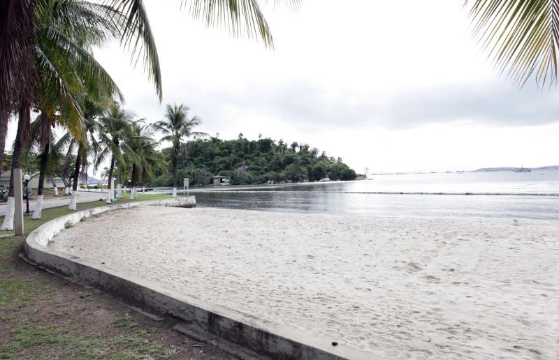 Complexo Arquitetônico Ilha das Flores- Cais de entrada do Hospedaria