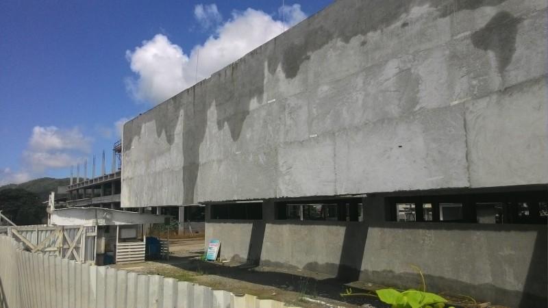 Obra de construção do Hospital da Mãe está paralisada (CCO)